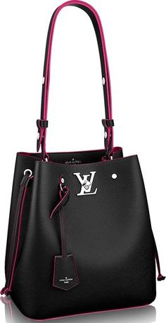 Louis Vuitton Lockme Bucket Bag Is Lockme here to stay? We do think so because Louis Vuitton has just expanded the collection with the newest bucket bag. Just to summarize with what we Louis Vuitton Handbags, Purses And Handbags, Leather Handbags, Prada Handbags, Tote Bags, My Bags, Weekender Bags, Bucket Bag, Sacs Design