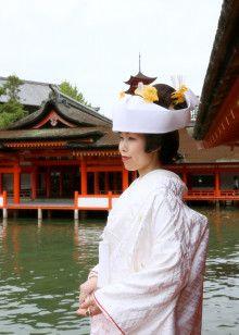 厳島神社で結婚式