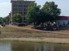 The people of Marietta came out to see the American Queen continue her voyage up the Ohio River.