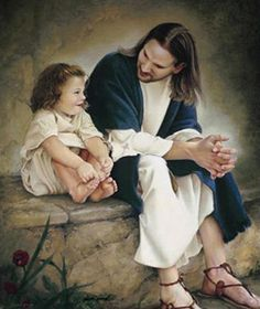 Love this pic Jesus said; let the children come to me! God and Jesus Christ