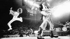 Fender Telecaster | The Rolling Stones, Philadelphia, 1975. by Annie Leibovitz