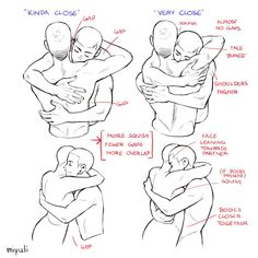 Figure Drawing Reference, Body Reference, Drawing Reference Poses, Anatomy Reference, Animation Reference, Hugging Drawing, Body Drawing Tutorial, Drawing Body Poses, Drawing Expressions