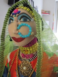 ExoticOOAK Gorgeous rajasthani woman from by Fantasylandjewelry