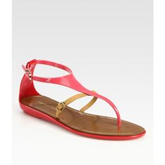 almost lost tate in saks while eyeing these amazing flat sandals.