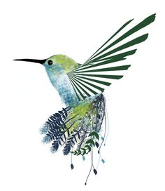 cool bird tattoo flash---represent helicopter?