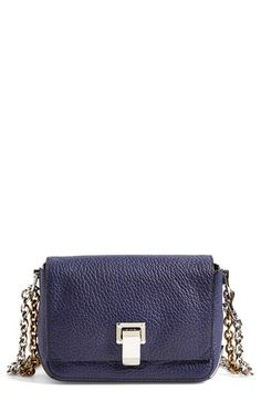 Proenza Schouler 'Small Courier' Pebbled Leather Crossbody Bag available at #Nordstrom