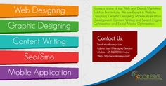Kcoresyswebsolutions is the solution of Web Design, Graphic Design, content writing, marketing, SEO, SMO etc. http://www.kcoresys.com/