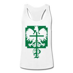 Polska Adler & P - Männer Tank Top mit Ringerrücken #polska #polskashop #polskatanktop #poloniatanktop #polnischebekleidung #poloniastore #tanktop #sport #fitness #mypolonia