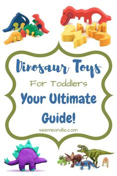 Dinosaur Toys For Toddlers Your Ultimate Guide. Learn how to use these toys to facilitate speech-language development Discover the best baby toys for your youngsters Preschool Learning Toys, Learning Toys For Toddlers, Toddler Learning, Toddler Activities, Kids And Parenting, Free Activities, Parenting Tips, Dinosaur Toys For Toddlers, Kids Toys