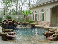 beach entry pool designs - Google Search