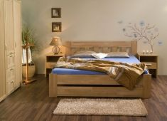 manželská postel 200x160 Filip senior 094BS buk
