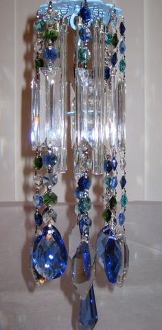 Wind Chimes with Crystal Prism | Crystal Prism Wind Chime Indoor or Outdoor by YourCrystalDream