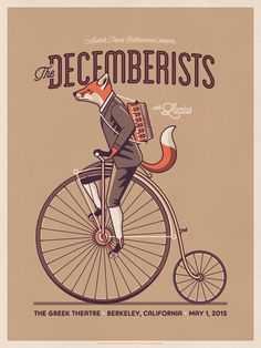The Decemberists Poster by DKNG