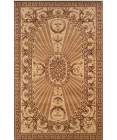 Momeni Harmony HA-15 Area Rug - Light brown - Area Rugs at Hayneedle