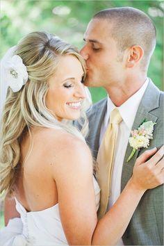 custom hair accessory from heirloom jewelry #weddinghair #hairaccessory #weddingchicks http://www.weddingchicks.com/2014/03/19/seaside-manor-wedding/