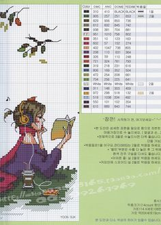 GRAFICOS SODA COREA ,,, SUPER LINDOS (pág. 14) | Aprender manualidades es facilisimo.com