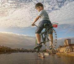 Este fotógrafo criou um mundo de fantasia para o seu filho
