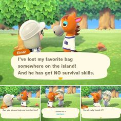 Did you even look for it! Animal Crossing Funny, Animal Crossing Villagers, A Hat In Time, City Folk, Video Game Memes, Gaming Memes, Funny Games, My Animal, I Laughed