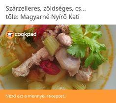 Szárzelleres, zöldséges, csont leves Beef, Food, Meat, Essen, Meals, Yemek, Eten, Steak