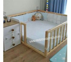 30 Smart Baby Toddler Bedroom Design Ideas to Inspire You is part of Baby furniture It takes enough creativity to make your child's room more attractive and unique The design of a toddler room is - Baby Bedroom, Baby Boy Rooms, Baby Room Decor, Baby Cribs, Room Baby, Kids Bedroom Dream, Baby Playpen, Girl Rooms, Bedroom Wall