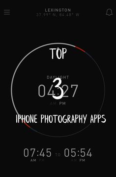 these are my 3 favorite iPhone apps that genuinely assist me in my photography and that I use on a regular basis. I think you will find them useful too! via @serialphotog