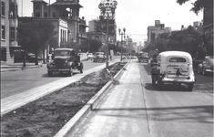 Imagen de la Avenida de los insurgentes en el año de1940.