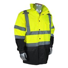 Hi Vis Safety Clothing at the lowest Price , Call Us for Pricing almost at wholesale Radians General Purpose Rain Jacket Safety Clothing, M Class, Industrial Safety, Work Gloves, Street Bikes, Rain Wear, Nice Tops, Motorcycle Jacket, Rain Jacket