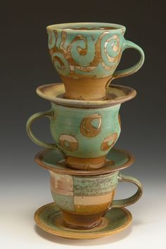 Sara Dudgeon Pottery Cups