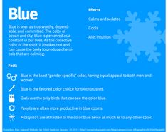 Words that describe blue sensational color color - Light blue color psychology ...