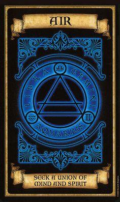 Oraculo Madame Endora: El Aire - La magia del Tarot