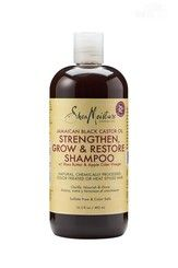 A clarifying, Sulfate-free shampoo that removes product build-up, while infusing hair with moisture. Leaves hair soft and shiny. Gentle enough to use every day. Promotes growth by nourishing and strengthening damaged or chemically processed hair, reducing the appearance of breakage and shedding. Apple Cider Vinegar aids in regulating and balancing pH levels on the scalp, while softening hair to promote enhanced growth.
