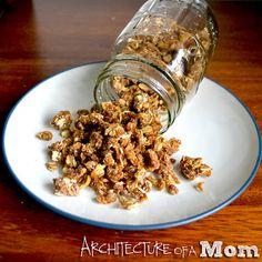 Architecture of a Mom: Pumpkin Granola
