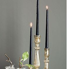 Gothic Halloween party ideas | Candles | Sunset.com