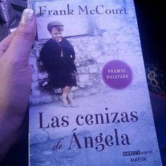 """""""Excelente elección  y lo recomiendo! #read #frankmccourt #enjoying"""""""