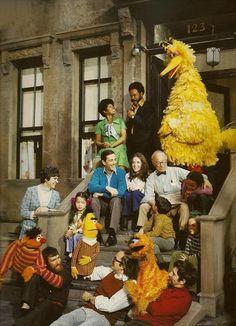 Sesame Street, 1970s.