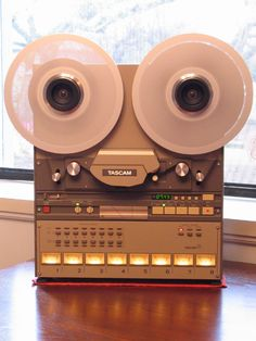 "Tascam 48 1/2"" 8 Track. The machine pictured is mine, this photo was taken by its previous owner."