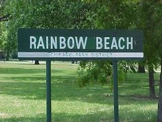 Beautiful Rainbow Beach in Chicago, IL at 7900 South Shore DR South Side Chicago, Chicago Beach, Chicago Skyline, Calumet City, Rainbow Beach, Short Bus, Chicago Shows, My Kind Of Town, Bus Ride