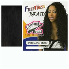 Freetress Barbadian Braid  - Color TP1B/30 - Synthetic Braiding