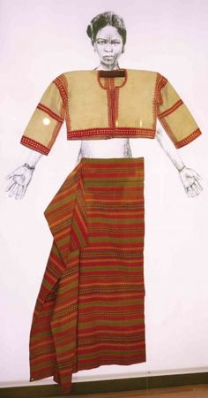 Ancient Philippine textiles studied by Prince Charles' School of Traditional Arts Philippines Outfit, Philippines Culture, Philippines Fashion, Traditional Dresses, Traditional Art, Filipiniana Dress, Filipino Fashion, Tribal Costume, Filipino Culture