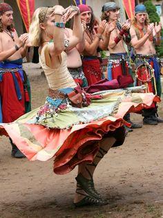 Gypsy:  #Gypsy dancers.