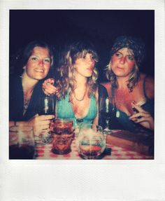Stevie Nicks with Robin Anderson and Christine McVie