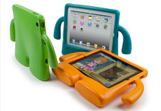 11 Adorable Kid-Proof Device Cases. This is iGuy    This free-standing iPad case fits all models of the device. It's made of lightweight EVA foam, and is guaranteed to offer serious protection. Tanya. ;-) $39.95