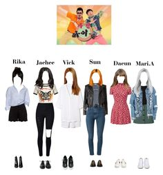 """""""StarZ at Weekly Idol"""" by starz-official ❤ liked on Polyvore featuring Topshop, Helmut Lang, Yves Saint Laurent, Dr. Martens, Chloé, Getting Back To Square One, Gucci, Vans, Boohoo and Achilles Ion Gabriel"""