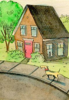 Neighborhood Walk by Nicole Wong