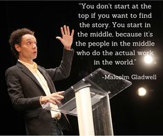 Malcolm Gladwell on Working Hard