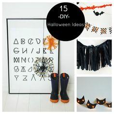 15 DIY Halloween Ideas
