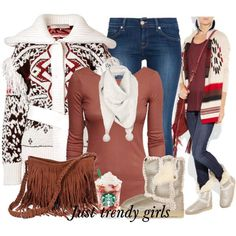 Hot Winter Outfit Fashion ideas For 2015 http://www.justtrendygirls.com/chic-winter-outfits-mix-and-match/