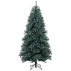 Vickerman 33965  75 x 48 Blue Crystal Pine Tree Christmas Tree N131775 * To view further for this item, visit the image link.