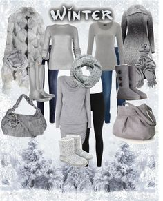 """Winter"" by jackaford-bittick ❤ liked on Polyvore"