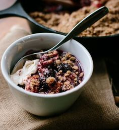Cardamon Oat Crumble [Late Spring/Summer/Early Autumn]